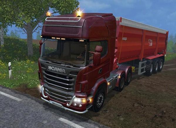 Scania R730 TOP LINE v1.0
