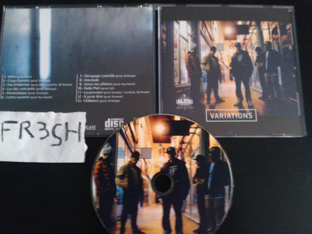 Cover: 5 Majeur-Variations-Cd-Fr-2013-Fr3Sh