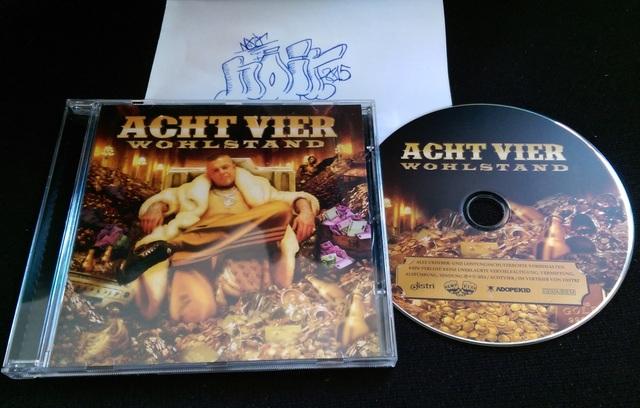 Cover: Achtvier - Wohlstand-DE-2014-NOiR