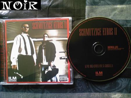 Cover: King Orgasmus and Godsilla-Schmutzige Euros 2-De-2007-NoiR