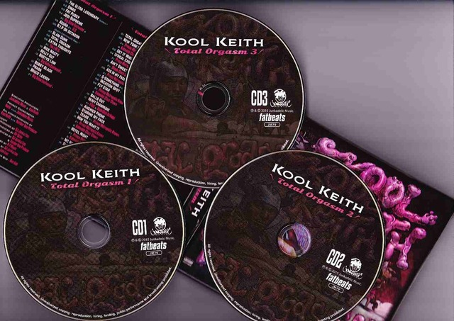 Cover: Kool Keith - Total Orgasm-3CD-2015-CMS