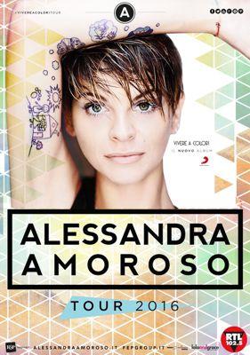 Alessandra Amoroso - Vivere a Colori Tour (2016) HDTV 720P ITA AC3 x264 mkv