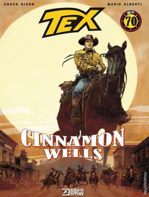 Tex Romanzi a Fumetti N. 8 - Cinnamon Wells (2018)