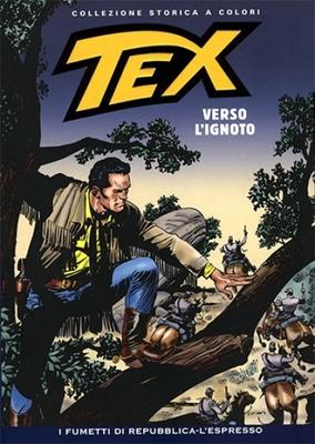 Tex Willer Collezione Storica a Colori 122 - Verso l'ignoto (2009)