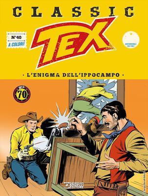 Tex Classic – Volume 40 – L'enigma dell'ippocampo (08/2018)