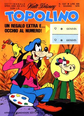 Topolino 1227 - Paperino e il bandito del fiume senza ritorno (06-1979)