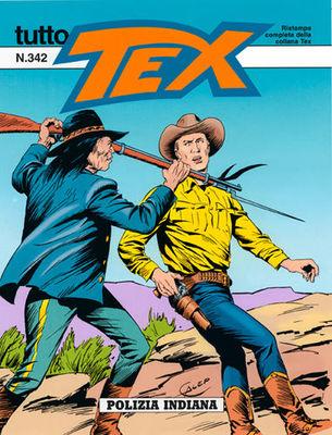 Tex. Tutto Tex 342 - Polizia Indiana (05-2001)