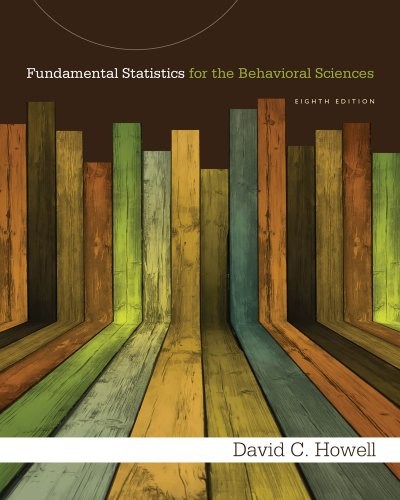 Fundamental Statistics for the Behavioral Sciences, 8th edition