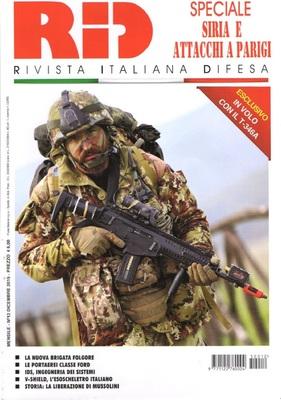 Rivista Italiana Difesa – Dicembre 2015