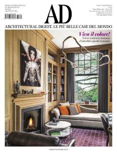 AD Architectural Digest Italia - Maggio 2016