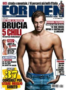 For Men Magazine - Ottobre 2015