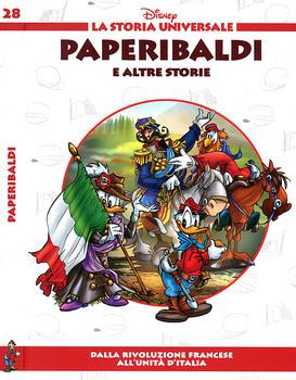 La storia universale Disney N.28 - Paperibaldi (2011)