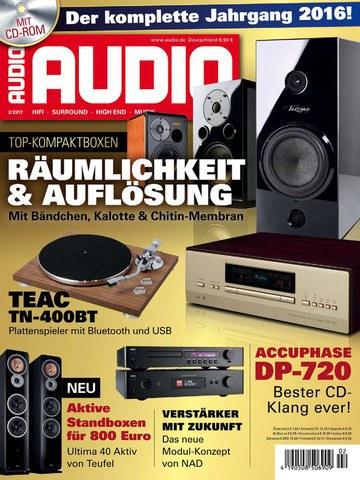 Audio  Magazin Februar No 02 2017