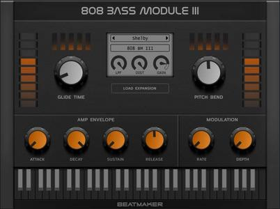 BeatMaker 808 Bass Module v3.0.0 Mac