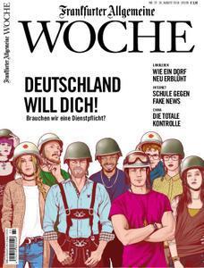 :  Frankfurter Allgemeine Woche 10 August 2018
