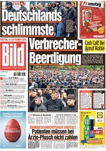 :  Bild Zeitung 14 September 2018