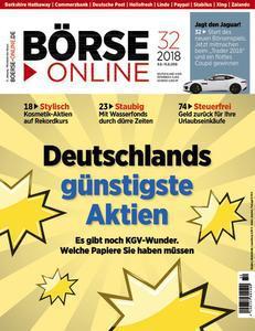 :  Börse Online Magazin August No 32 2018