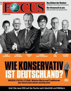 Focus Nachrichtenmagazin No 50 vom 08 Dezember 2018