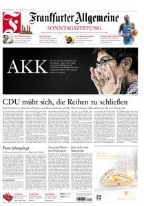 Frankfurter Allgemeine Sonntags Zeitung 09 Dezember 2018