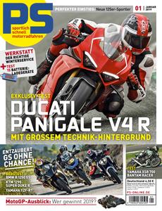 PS Motorradmagazin Januar No 01 2019