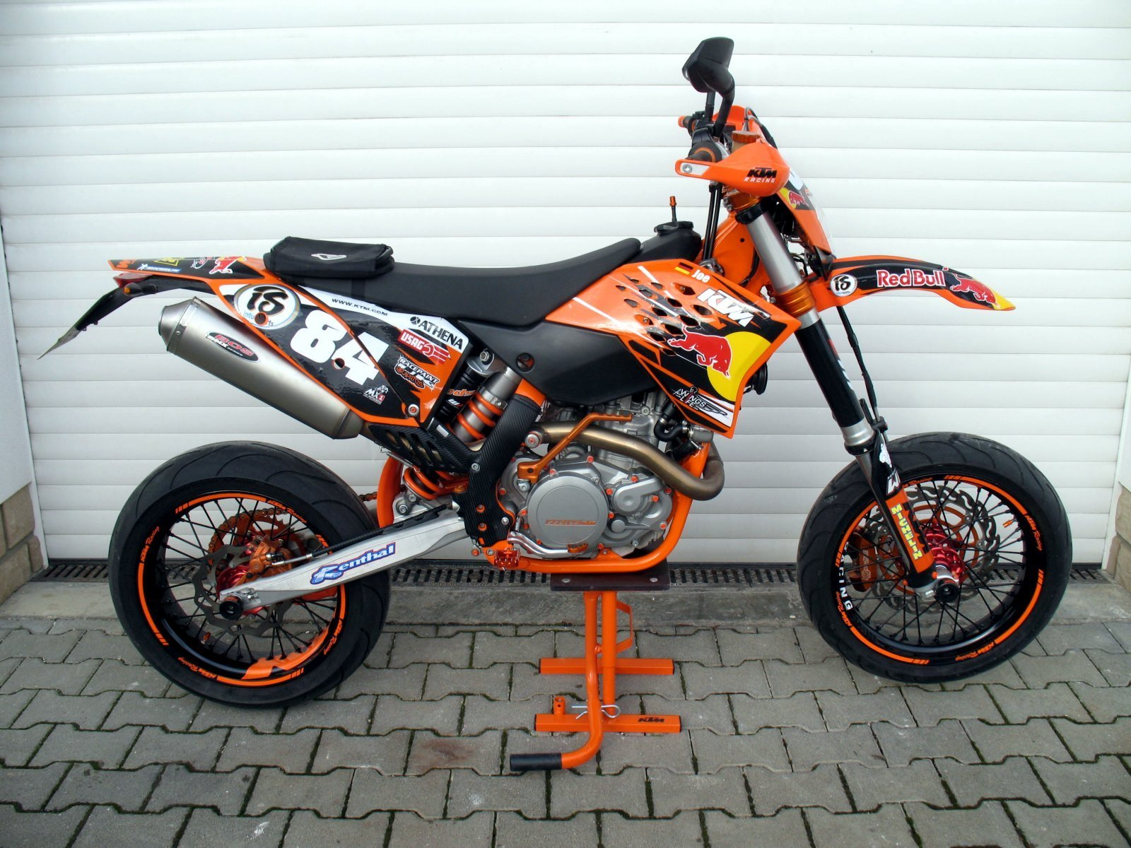 ktm 530 exc supermoto totalumbau ebay. Black Bedroom Furniture Sets. Home Design Ideas