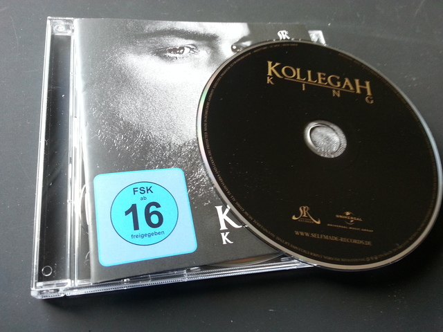 Cover: Kollegah - King-DE-2014-VOiCE
