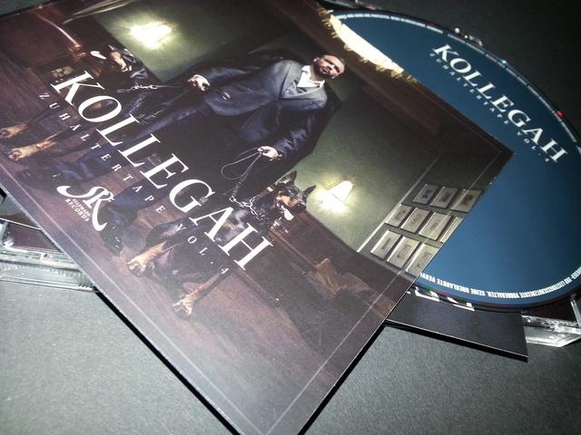 Cover: Kollegah - Zuhaeltertape Vol.4-DE-2015-VOiCE