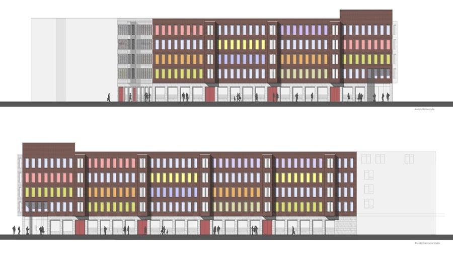 dortmund stadtumbaugebiet rheinische stra e unionviertel seite 5 deutsches architektur. Black Bedroom Furniture Sets. Home Design Ideas