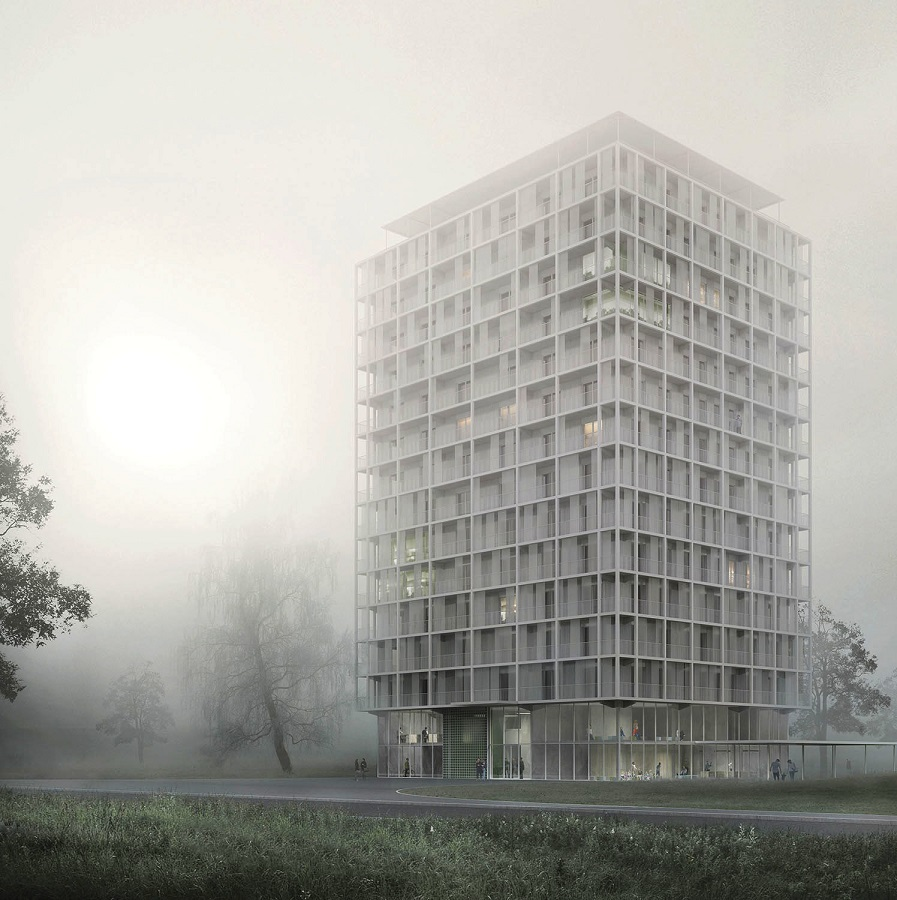 neues typenhochhaus wbm howoge seite 3 deutsches architektur forum. Black Bedroom Furniture Sets. Home Design Ideas