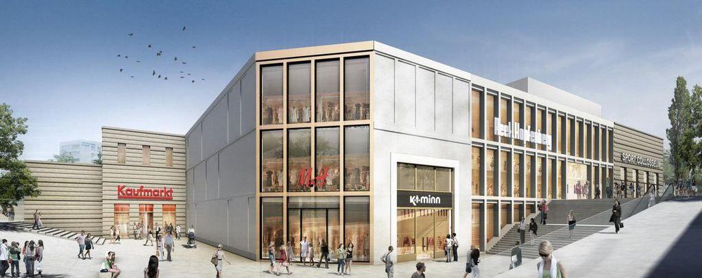heilbronn abriss wollhauszentrum neues center in planung seite 2 deutsches architektur. Black Bedroom Furniture Sets. Home Design Ideas