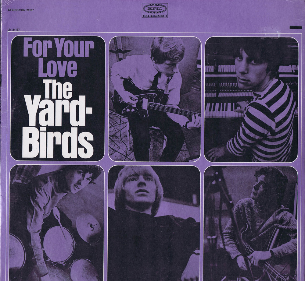 The Yardbirds (Jeff Beck) - For Your Love (1965)