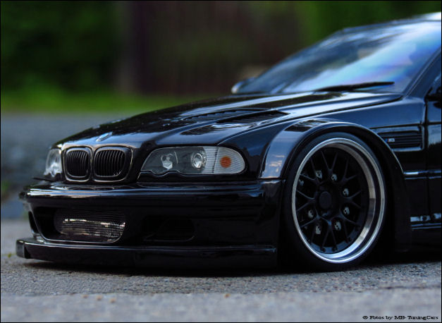 1 18 tuning bmw e46 m3 gtr carbon schwarz mit bbs gt. Black Bedroom Furniture Sets. Home Design Ideas