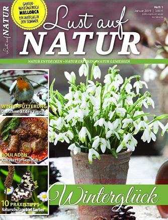 Ratgeber Lust auf Natur Magazin Januar No 01 2019