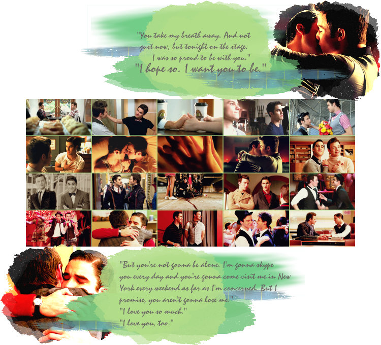 klaine flirty duets Are you a true klainer coffee and chocolate 1 33 let's start off easy who plays kurt and blaine so everyone who is actually still here, how did klaine meet.