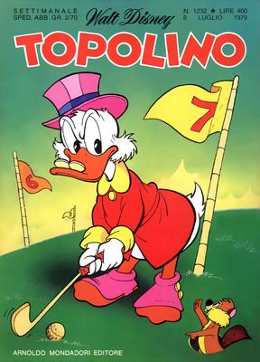 Topolino 1232 - Zio Paperone e l'abolizione del denaro (07-1979)