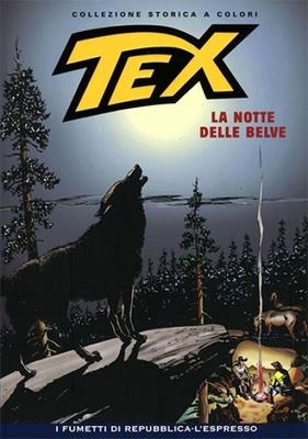 Tex Willer Collezione Storica a Colori 129 - La notte delle belve (2009)