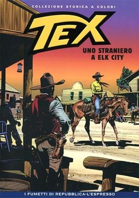 Tex Willer Collezione Storica a Colori 98 - Uno straniero a Elk City (2008)