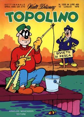 Topolino 1233 - Super Pippo cicerone dallo spazio (07-1979)