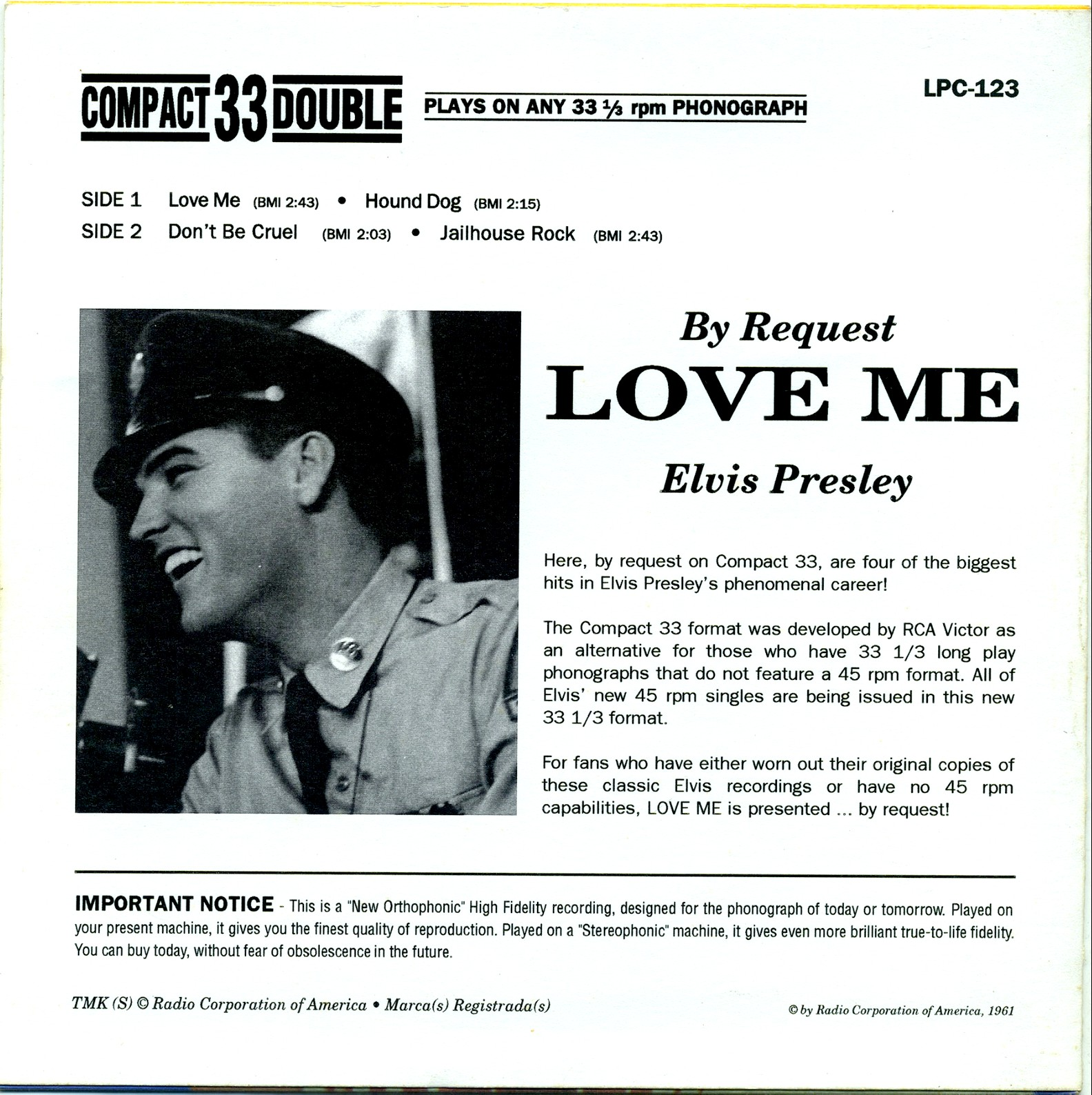 ELVIS BY REQUEST - LOVE ME 02j5pcl