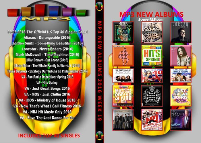 MP3 New Albums Week 19 2016