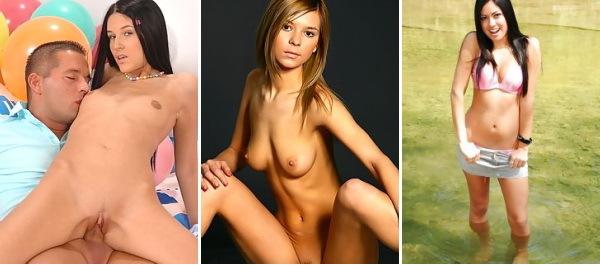 Plus Jeune Taille, le Modèle - xxx l'adolescent, l'amateur, russe.