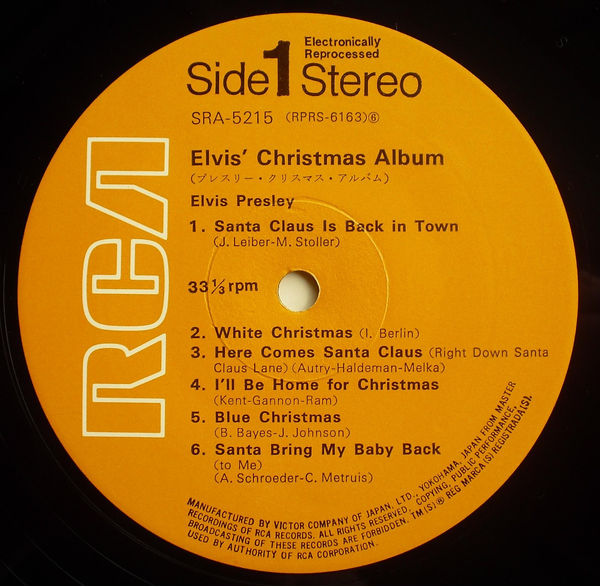 ELVIS' CHRISTMAS ALBUM 05s1mvs4t
