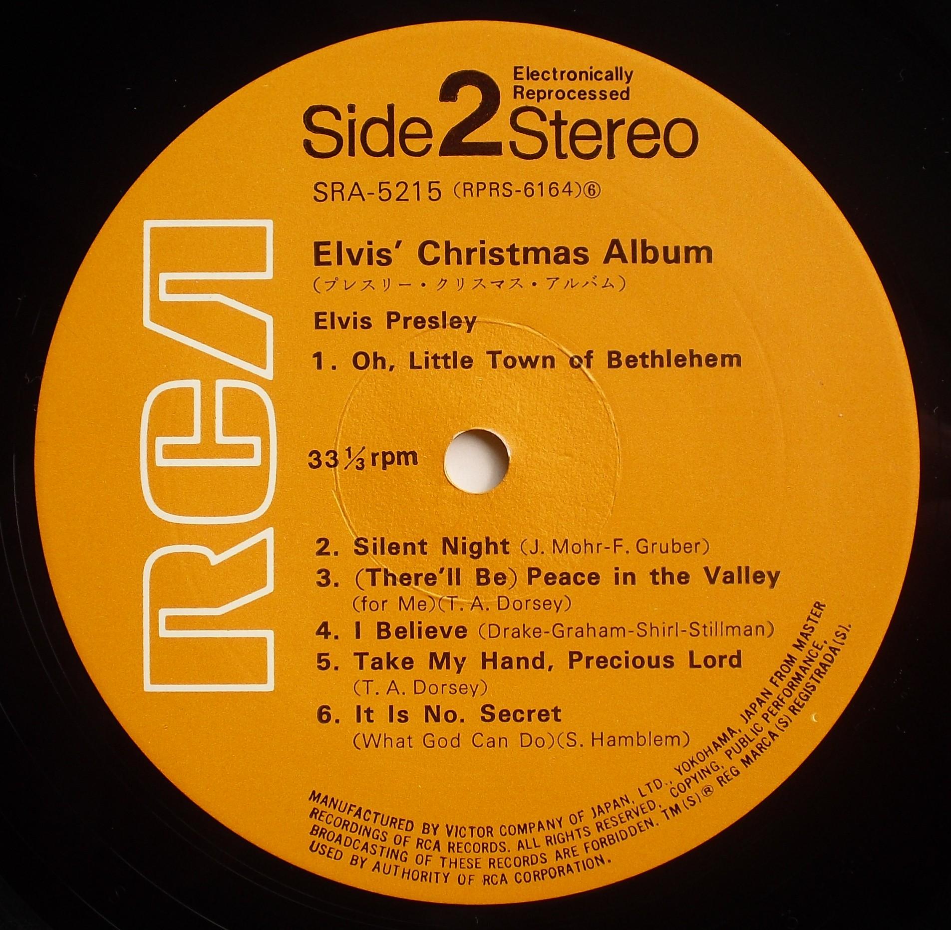 ELVIS' CHRISTMAS ALBUM 05s2f3sfx