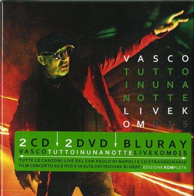 Vasco Rossi - Tutto In Una Notte (Live Kom 015) (2016).Mp3 - 320Kbps