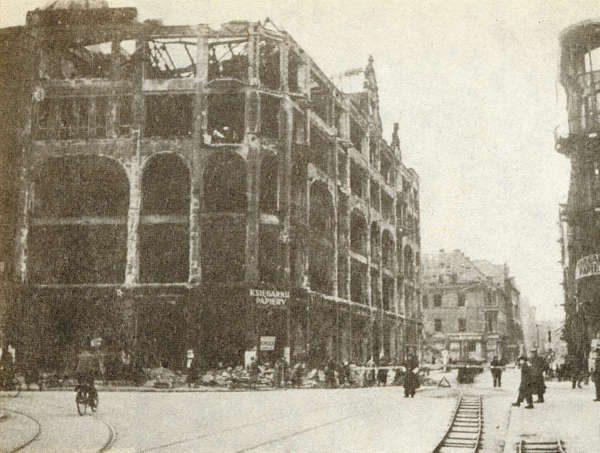 Wrocław  1945 Zniszczenia 65