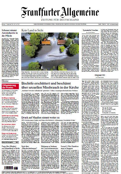 Frankfurter Allgemeine 17 September 2018