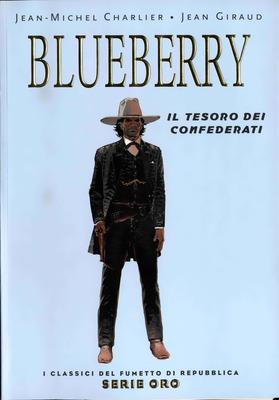 I Classici del Fumetto di Repubblica - Serie Oro N.25 - Blueberry - Il tesoro dei confederati (2005)