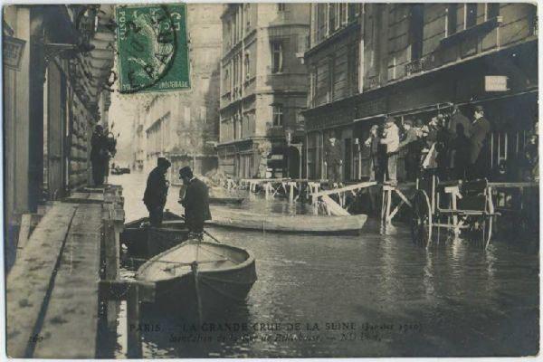 Wielka powódź w Paryżu 1910 28