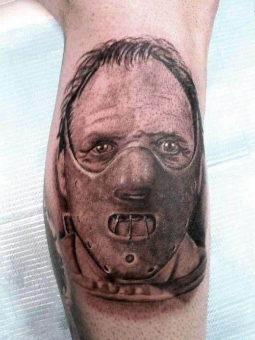 Tatuaże z twarzami gwiazd 19