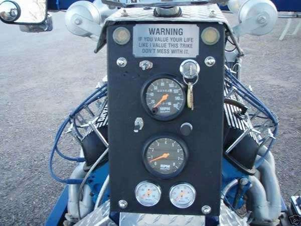 Motocykl z mustanga 5